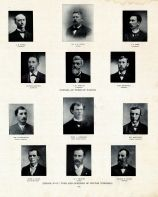 Rider, Leith, Park, Bannick, Norton, Beimford, Lindermann, Goerring, Marchant, Ryan, Shiflet, Klein, Muscatine County 1899