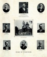 Titus, Giesler, Brannan, Hendrix, Nichols, Bernick, Zeidler, Hoskins, County Court House, Muscatine County 1899
