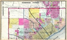 Muscatine City Map 2, Muscatine County 1899