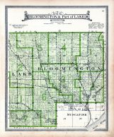 Bloomington and Part of Lake Townships, Muscatine County 1916