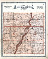 Cedar and Orono Townships, Muscatine County 1916