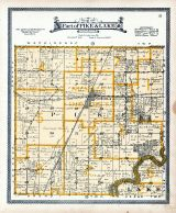 Pike and Lake Townships - Part, Muscatine County 1916