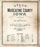 Title Page, Index, Muscatine County 1916