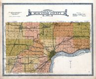 Topographical Map, Muscatine County 1916