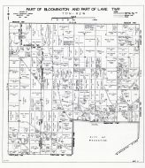 Bloomington and Lake Townships - Part, Muscatine County 1943