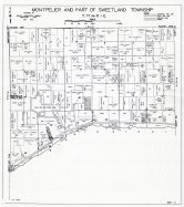 Montpelier and Sweetland Townships - Part, Muscatine County 1943