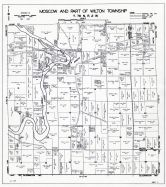 Moscow and Wilton Townships - Part, Muscatine County 1943