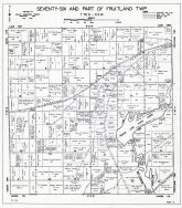 Seventy-Six and Fruitland Townships - Part, Muscatine County 1943