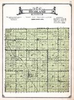Highland Township, Gaza, O'Brien County 1924