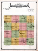 O'Brien County Map, O'Brien County 1924