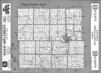Index Map, Page County 1993