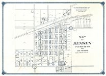 Remsen Street Map, Plymouth County 1914