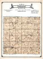 Johnson Township, Adaville, Ruble, Plymouth County 1921
