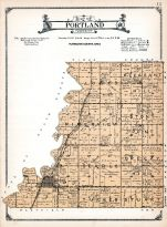 Portland Township, Akron, Tucker, Searls, Stuart, Breezy Hill, River View, Stony Point, Pleasant Hill, Jones, Plymouth County 1921