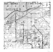 Bloomfield County, Des Moines City, Fort Des Moines, Polk County 1947