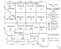 Index Map, Polk County 1947