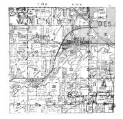 Walnut Township, Des Moines, Ashawa, Commerce, Bloomfield County, Polk County 1947