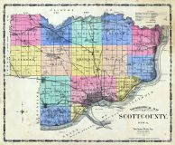 County Topographical, Scott County 1905