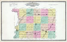 County Topigraphical Map, Sioux County 1908