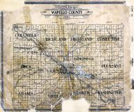 County Outline, Wapello County 1908