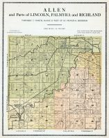 Allen and Parts of Lincoln, Palmyra and Richland, Warren County 1915