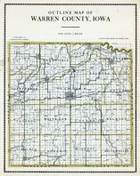 County Outline, Warren County 1915