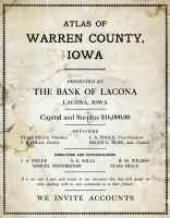Cover Page, Warren County 1915