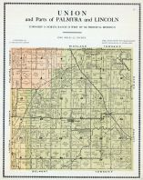 Union and Parts of Palmyra and Lincoln, Warren County 1915