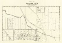 Forest City - North, Winnebago County 1928