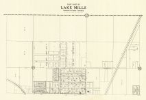 Lake Mills - East, Winnebago County 1928