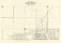 Lake Mills - West, Winnebago County 1928