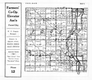 Forest Township, Leland, Forest City, Twister Creek, Winnebago County 1938