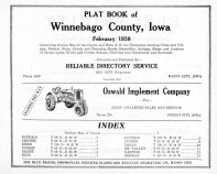 Title Page Index, Winnebago County 1938
