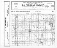 Winnebago County Outline Map, Winnebago County 1938