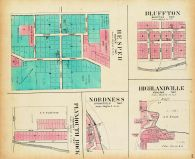 Bluffton, Hesper, Highlandville, Nordness, Plymouth Rock, Winneshiek County 1905