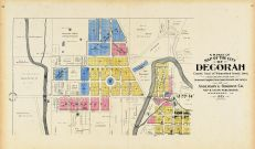 Decorah City - North West, Winneshiek County 1905