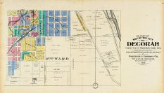 Decorah City - South East, Winneshiek County 1905