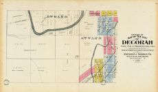 Decorah City - South West, Winneshiek County 1905