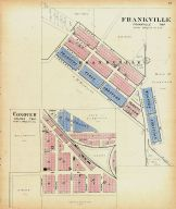 Frankville and Canover, Winneshiek County 1905
