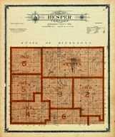 Hesper Township, Winneshiek County 1905