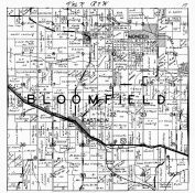 Bloomfield Township, Castalia, Moneek, Yellow River, Winneshiek County 1940