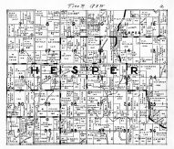 Hesper Township, Winneshiek County 1940