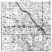 Lincoln Township, Ridgeway, Winneshiek County 1940