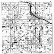 Military Township, Ossian, Winneshiek County 1940