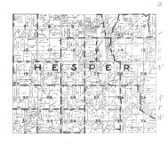 Hesper Township, Winneshiek County 1944