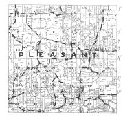 Pleasant Township, Canoe, Attre, Locust, Winneshiek County 1944