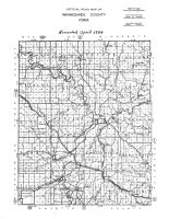 Winneshiek County Road Map, Winneshiek County 1944