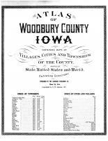 Title Page, Woodbury County 1917