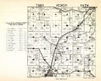 Kendron Township, Anthon, Woodbury County 1930