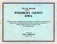 Title Page, Woodbury County 1930
